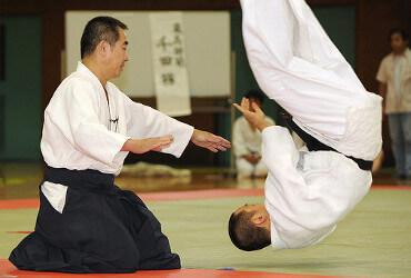 Tsutomu Chida Aikido