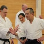 Chida Sensei UK Seminar 2016 - Renshinkai Aikido Sussex