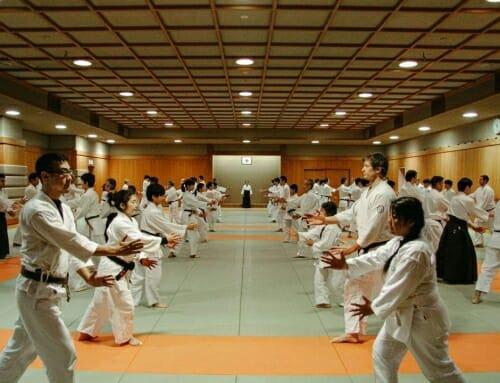 2020 Kangeiko In Tokyo Japan with Renshinkai Aikido
